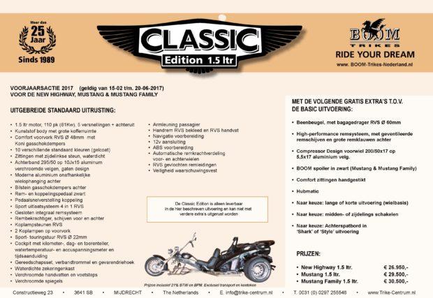 Boom Classic Edition 1.5 NL